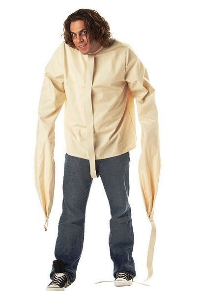 Straight Jacket. Mens Halloween Costumes