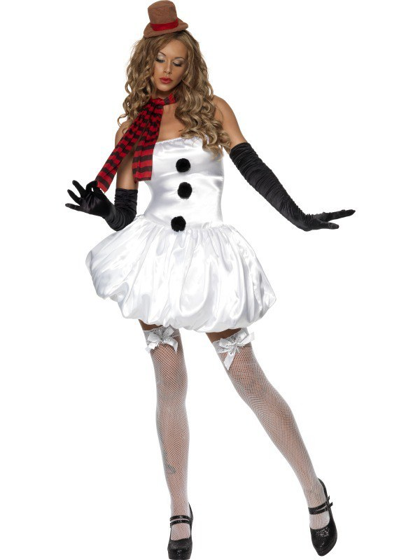 Fever Ladies Snowman Costume