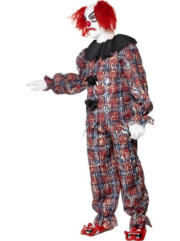 scary clown costume scary clown costume  sc 1 st  The Costume Shop & Zombie Alley Scary Clown Costume
