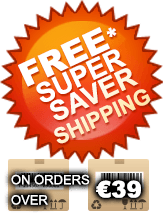 Free Super Saver Shipping on orders over €39