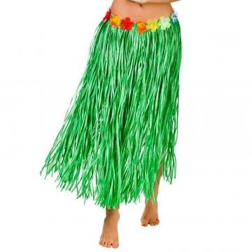 Green Leaf Hawaiian Skirt