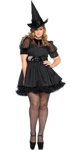 Bewitching Witch Costume - Plus Size