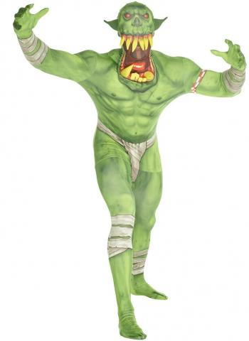 Jaw Dropper Orc Morphsuit Green