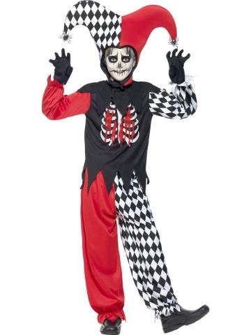 Blood Curdling Jester Costume - Teen