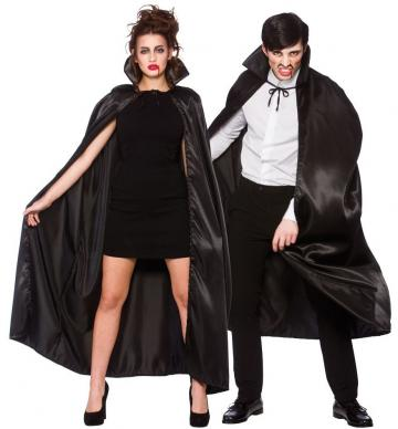 black satin cape 2