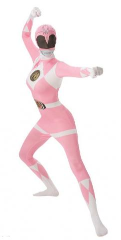 pink power ranger 2nd skin - ladies