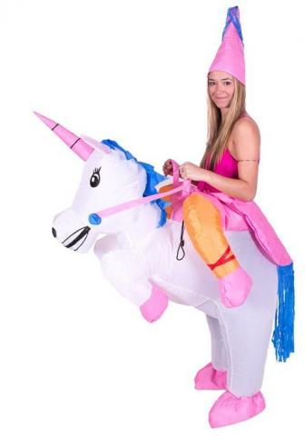 inflatable unicorn costume