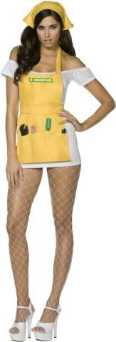 D.I.Y Babe Costume