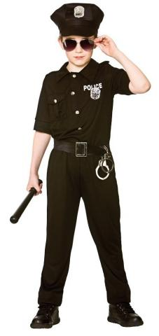 New york cop teen costume