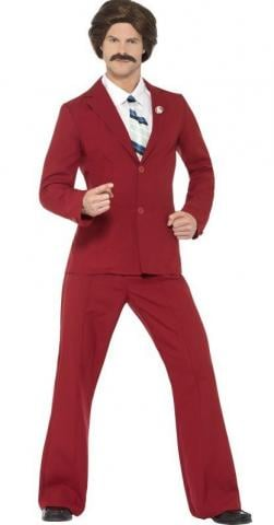 Anchorman ron burgundy Costume