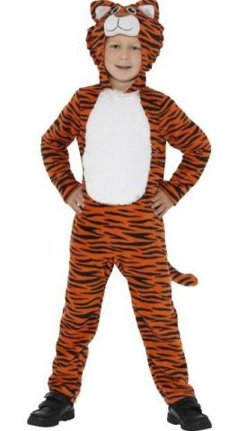 Tiger Costume - Tween