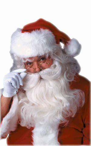 Feature Santa Wig and Beard Set