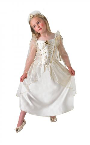 Deluxe nativity angel kids costume