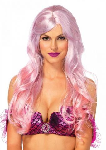 Mermaid Ombre Wig - Pink