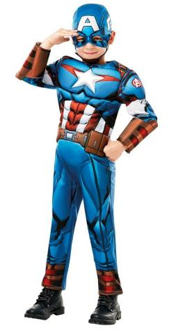 Avengers Captain America Costume - Kids