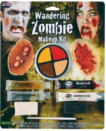 Wandering Zombie Make-up Kit