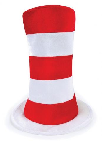 Striped Top Hat - Adult