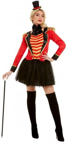 Ladies Deluxe Ringmaster Costume