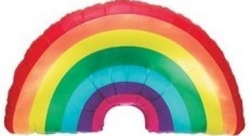 Rainbow Shape Foil Balloon - 36""