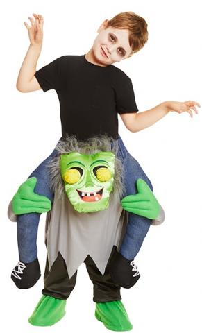 Ride along monster kids costume