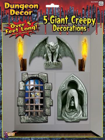 Creepy Dungeon Giant Wall Decoration