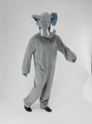 Plush Elephant Costume