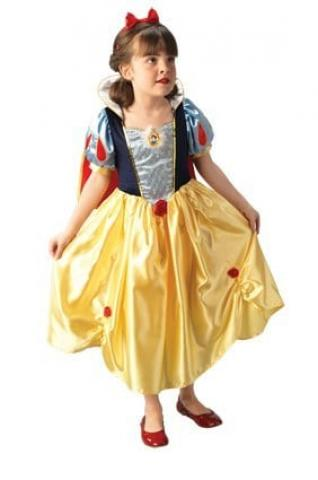 Childs snow white platinum costume