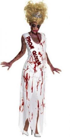 scary prom queen costume