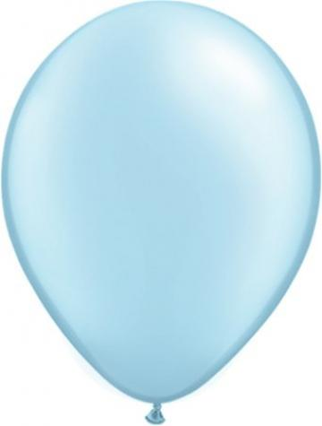 Metallic Light Blue Balloon