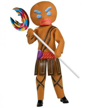 Gingerbread Warrior costume