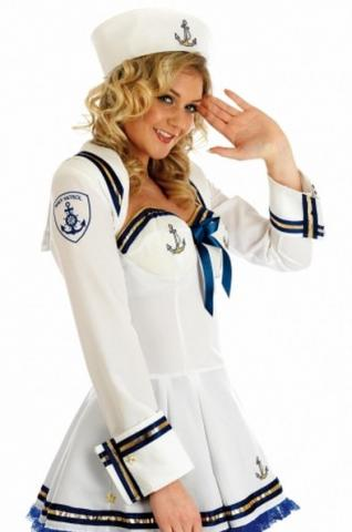 Flirty Sailor Costume