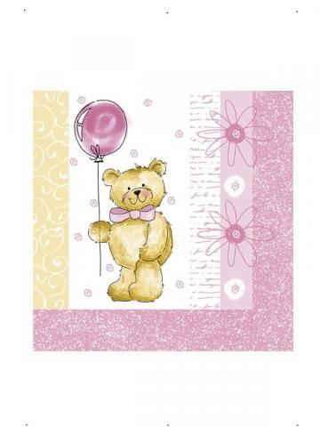 Teddy Bear Napkins