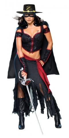 Lady Zoro Costume