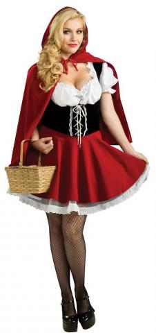 Red Riding Hood Costume - Plus Size
