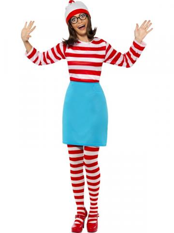 Ladies Where's Wally Costume