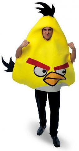 Yellow Angry Birds -Adult costume