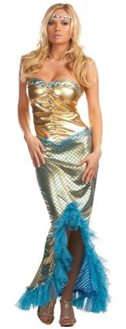 Sea Worthy Mermaid costume