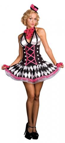 Harlequin honey costume