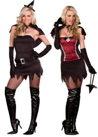 Witching hour to vampire costume