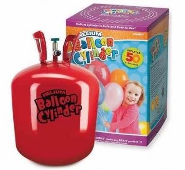 Large Helium Balloon Cylinder