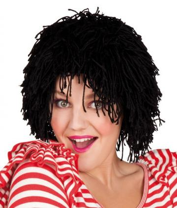 Wooly Clown Wig - Black