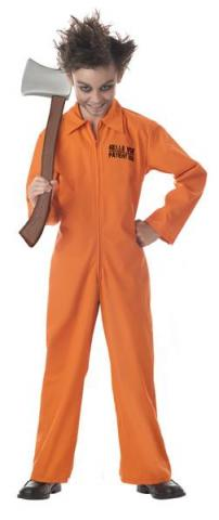 Kids Crazy Criminal costume