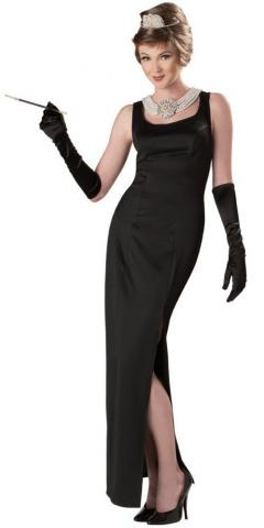 Holly Golightly Breakfast at tiffanys costume