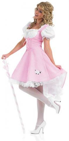 bo peep costume - long dress