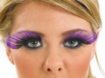 Purple and Black Curl Eyelashes