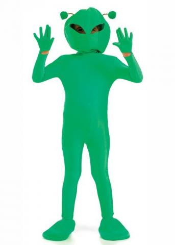 Alien Boy Costume - Kids