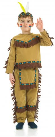 Kids Indian Chief Boy costume