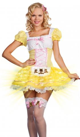 Glowing Goldilocks Costume