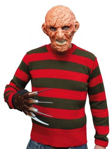 Red and Green Stripped Jumper