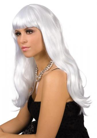 White Chique Wig